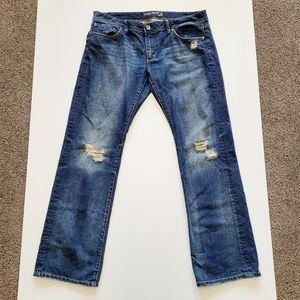 JWEST 72 (JEANSWEST) Womans Jeans Bootcut Distress